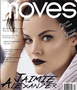 Jaimie Alexander, NY Moves