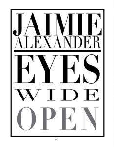 Jaimie Alexander, La Palme