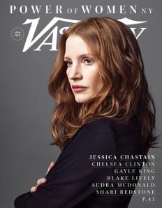 Jessica Chastain, Variety