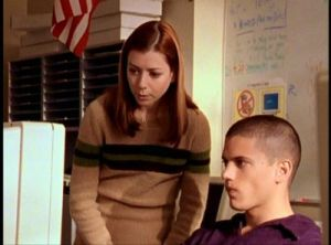 Alyson Hannigan, Willow Rosenberg, Wentworth Miller, Gage, Buffy the Vampire Slayer