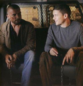 Wentworth Miller, Michael Scofield, Dominic Purcell, Lincoln Burrows, Prison Break