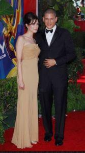 Wentworth Miller, Mariana Klevenko, Golden Globes