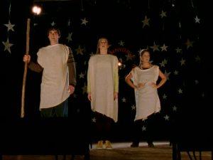 Sarah Michelle Gellar, Buffy Summers, Alyson Hannigan, Willow Rosenberg, Nicholas Brendan, Xander Harrie, Buffy the Vampire Slayer