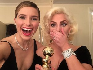 Sophia Bush, Lady Gaga, Golden Globes